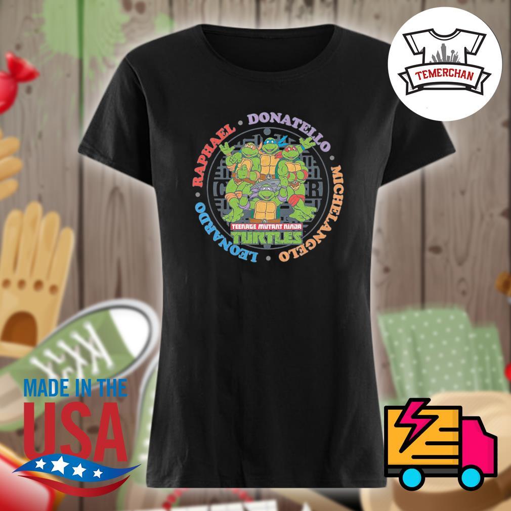Teenage Mutant Ninja Turtles s Ladies t-shirt