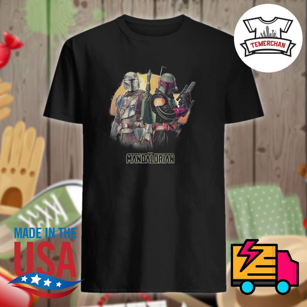 The Mandalorian gun shirt