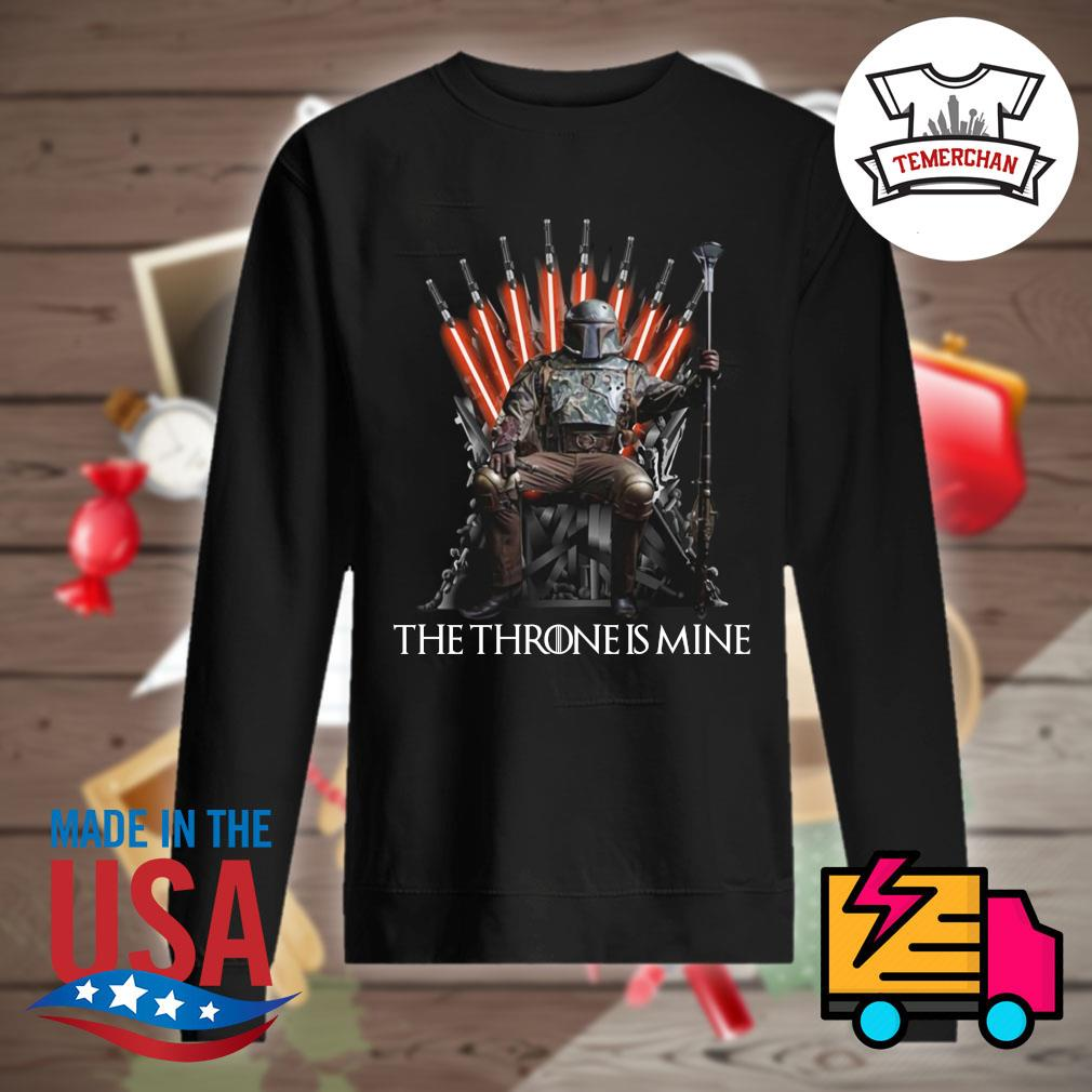 The Mandalorian the Throne is mine s Sweater