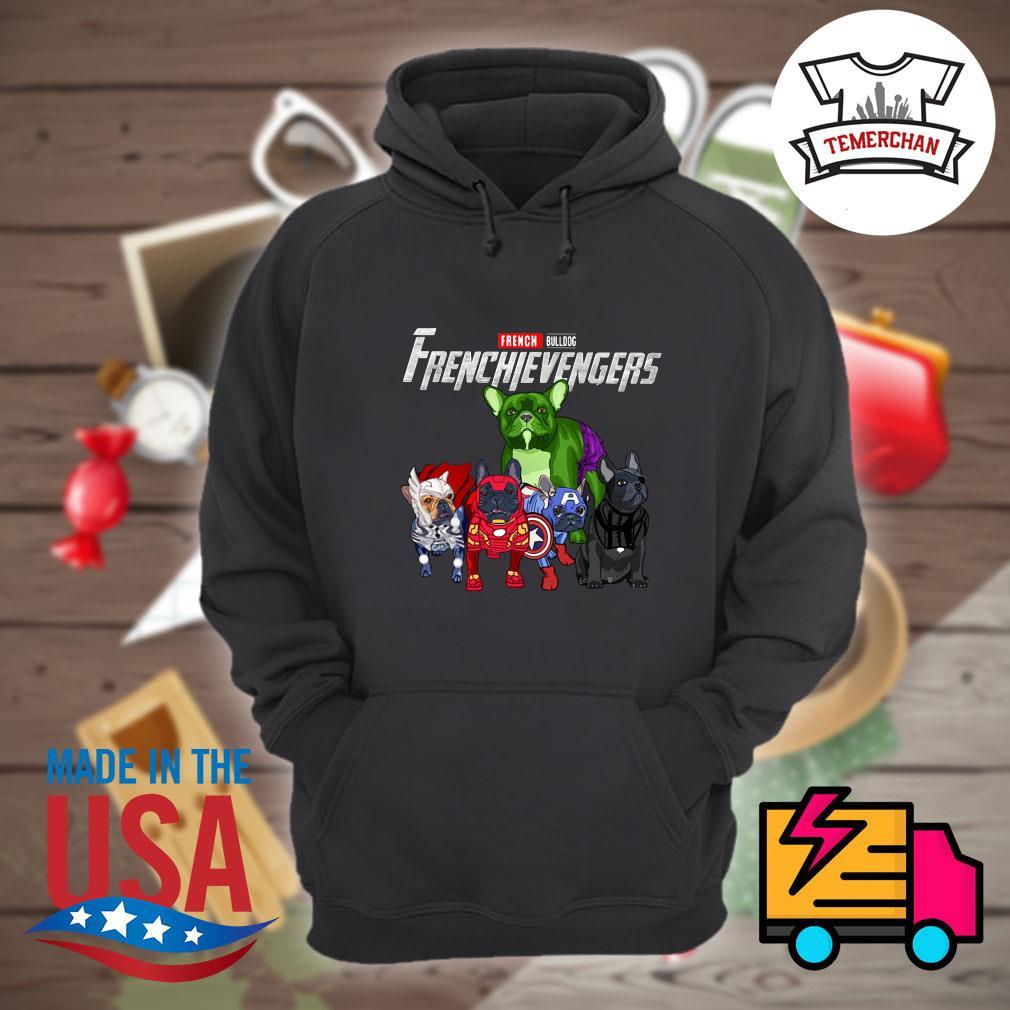 Marvel Avenger French Bulldog Frenchievengers s Hoodie