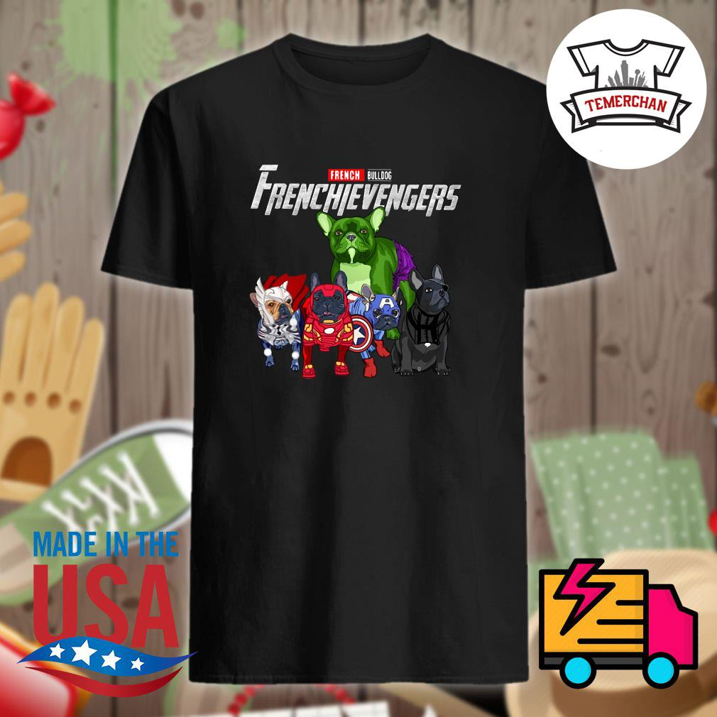 Marvel Avenger French Bulldog Frenchievengers shirt