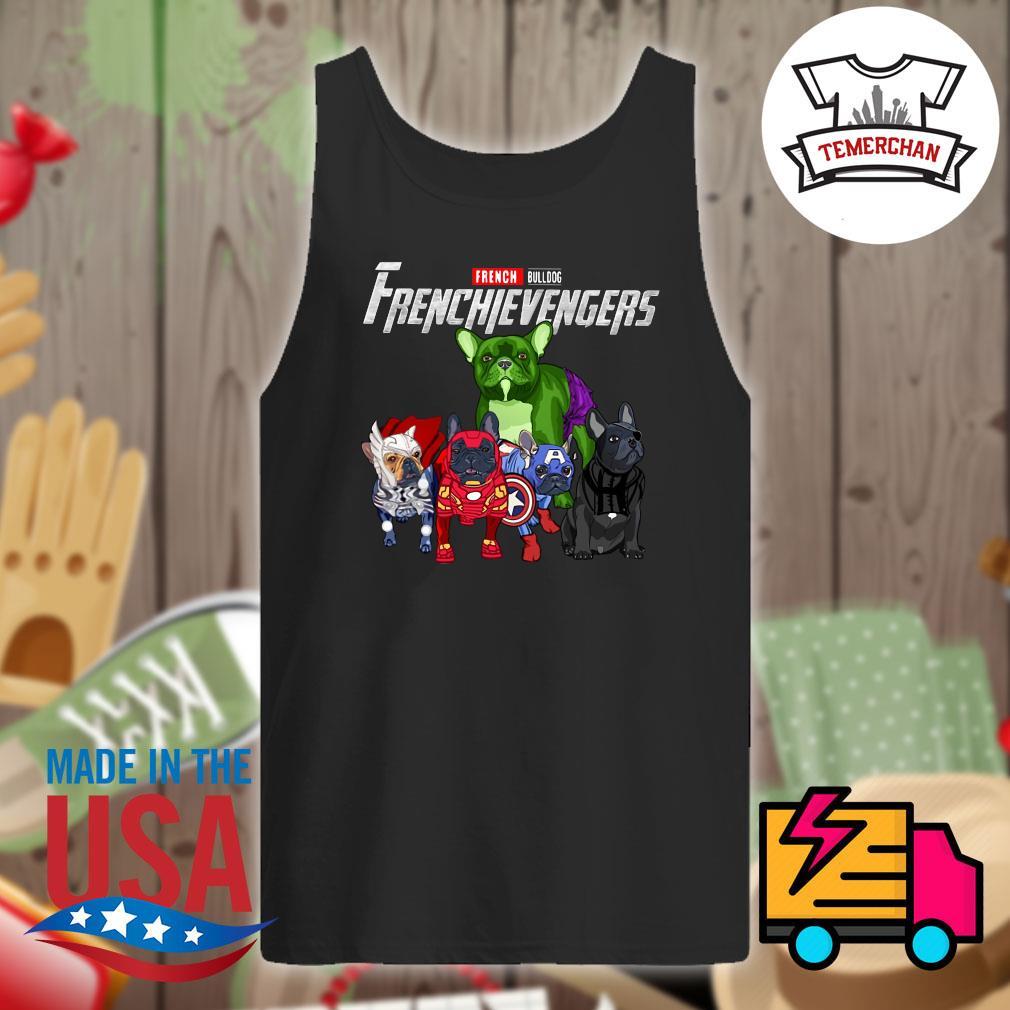 Marvel Avenger French Bulldog Frenchievengers s Tank-top
