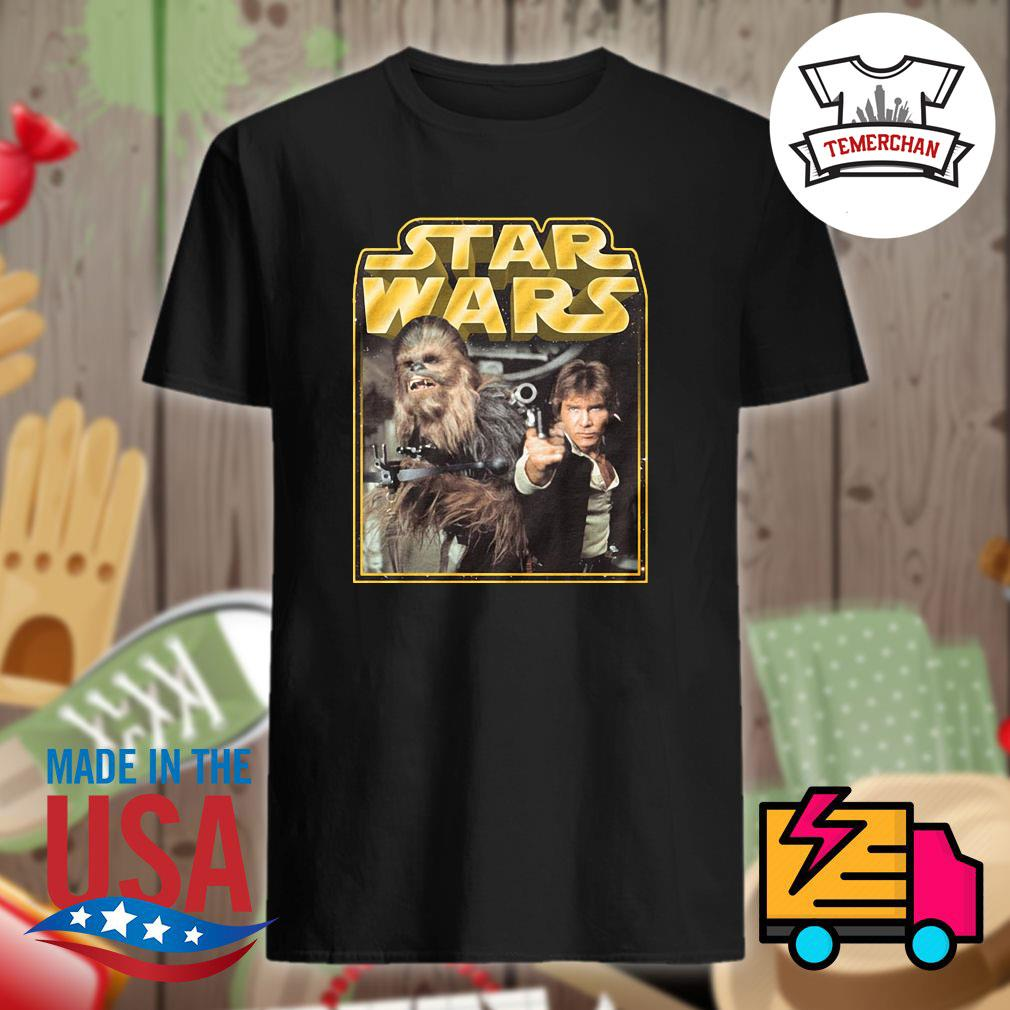 Star Wars Chewbacca and Han Solo shirt
