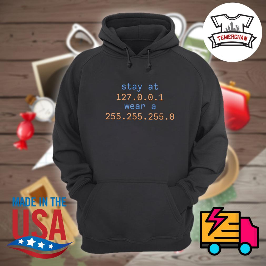 Stay at 127.0.0.1 wear a 255.255.255.0 s Hoodie