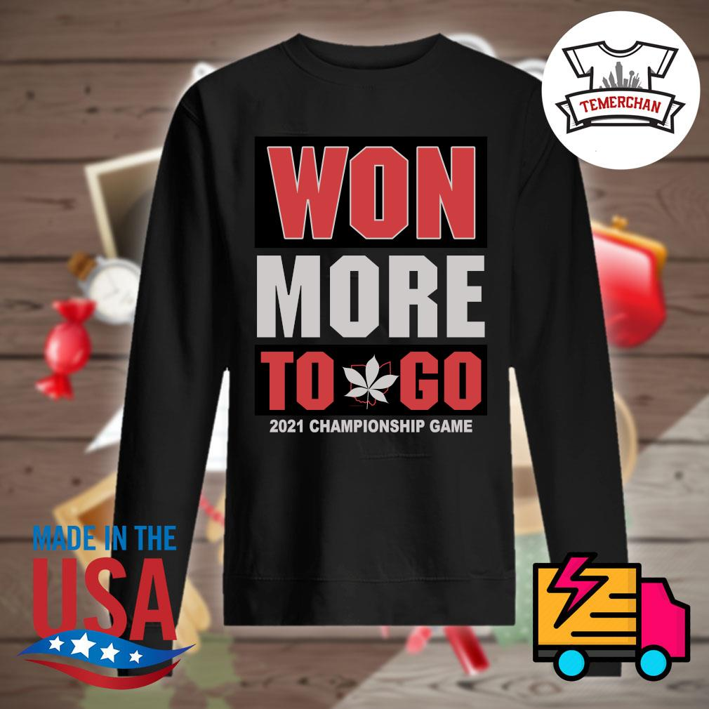 Won more to go 2021 Championship game s Sweater