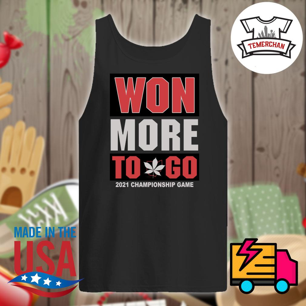 Won more to go 2021 Championship game s Tank-top